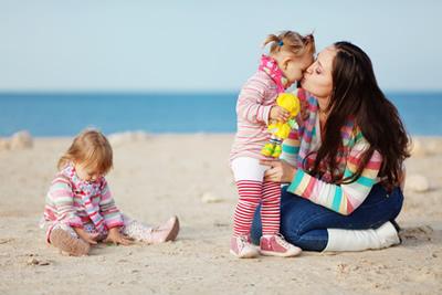 Hotelferien mit Kindern en Italie.